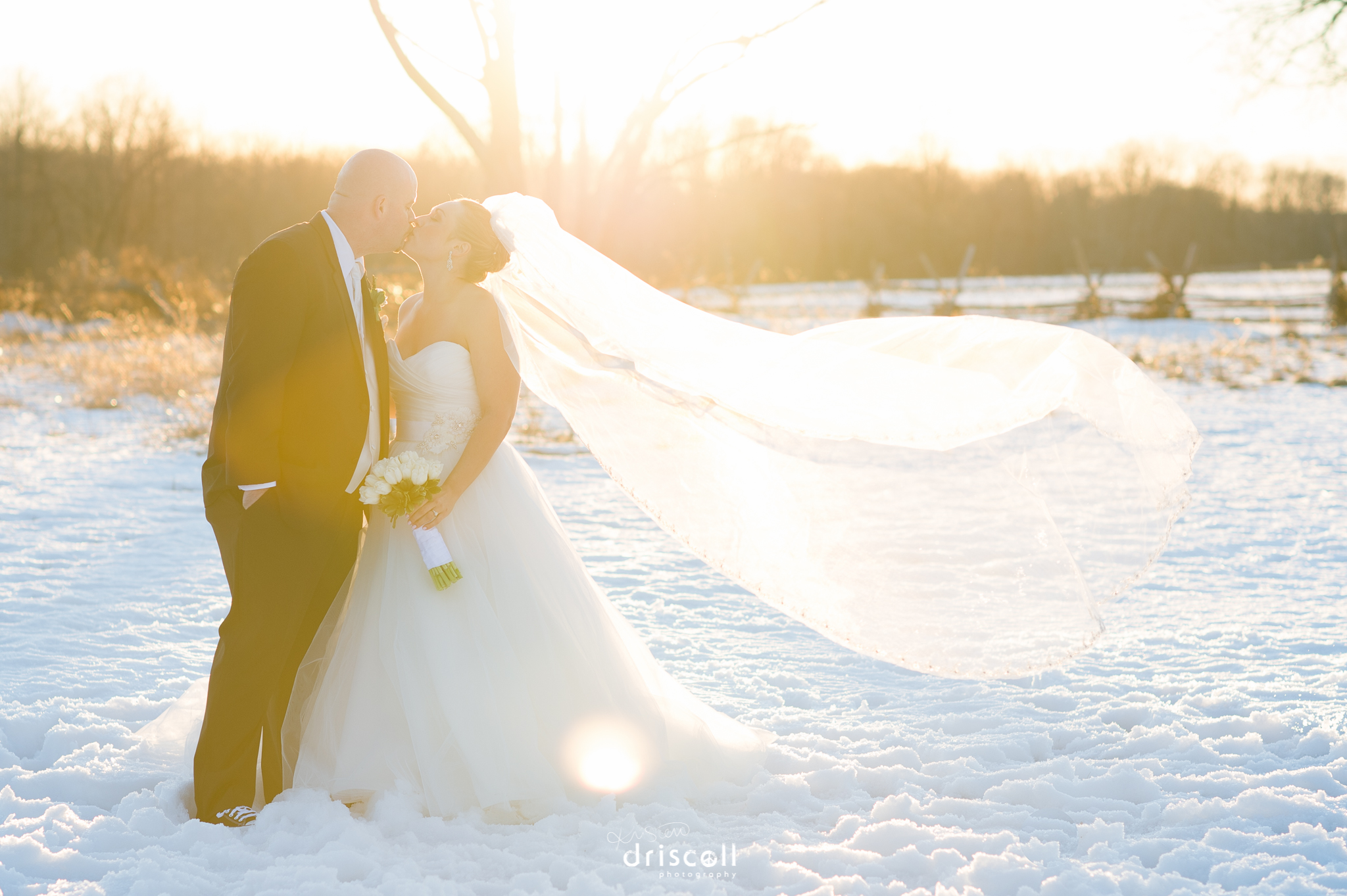 New Jersey Winter Wedding At The Radisson Hotel Freehold Nj By Photographer Kristen Driscoll Photography